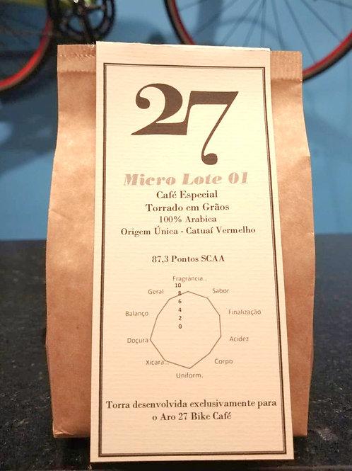 27 - Microlote 01 - Café Torrado em Grãos - 250g