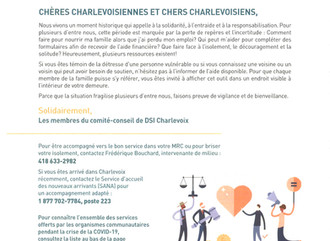 Soutien - Information - Ressources - MRC de Charlevoix-Est
