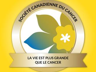 Appui à la Société canadienne du Cancer