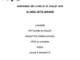 Au menu cette semaine à votre Coop Alimentaire ...