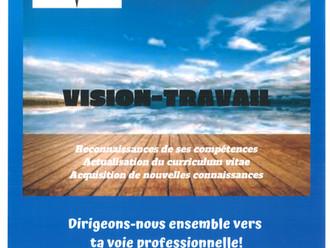 VISION-TRAVAIL - Service d'aide à l'emploi