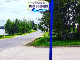 Nouvelles pancartes de rues BSC installée!