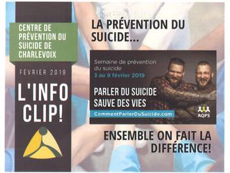 En parler peut sauver des vies !