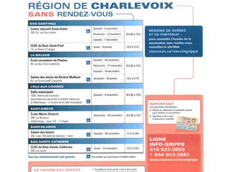 VACCINATION CONTRE LA GRIPPE - 2019