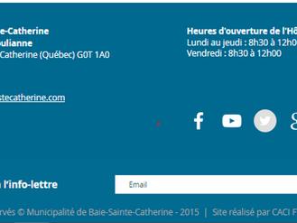 DIFFICULTÉ DE DISTRIBUTION DE L'INFORMATION VIA NOS RÉSEAUX SOCIAUX