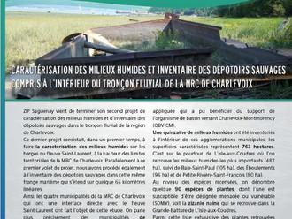 Bulletin d'information « Eau fil du Fjord » - ZIP Saguenay - Décembre 2015