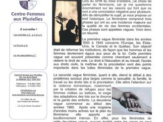 Centre-Femmes aux Plurielles - Décembre 2019