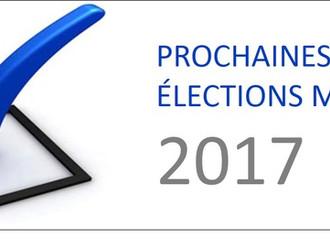 Élection municipale 2017...la préparation commence!
