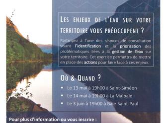 OBV Charlevoix Montmorency - Séances de consultation