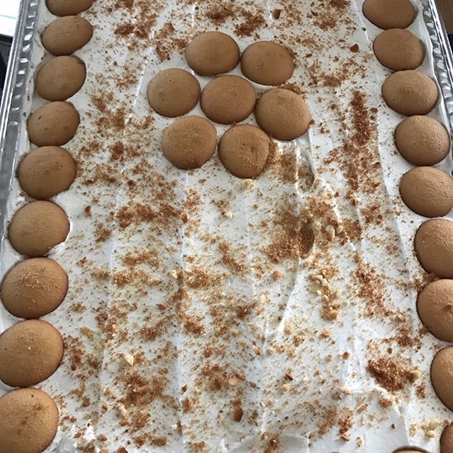Banana pudding 🍌🍌🍌