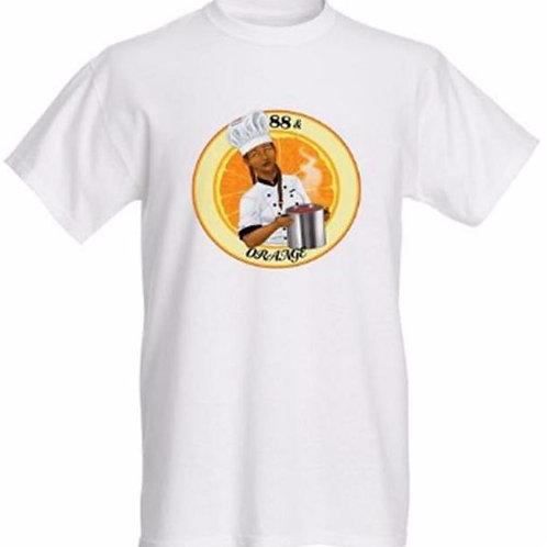 88 and Orange T-shirt