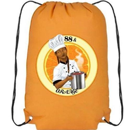 88 and Orange Bag