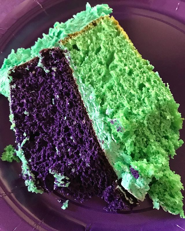 Inside of the cake