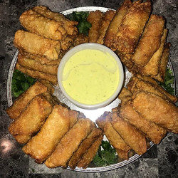 Egg Roll Appetizer tray 40 rolls 4 different flavors_ _1