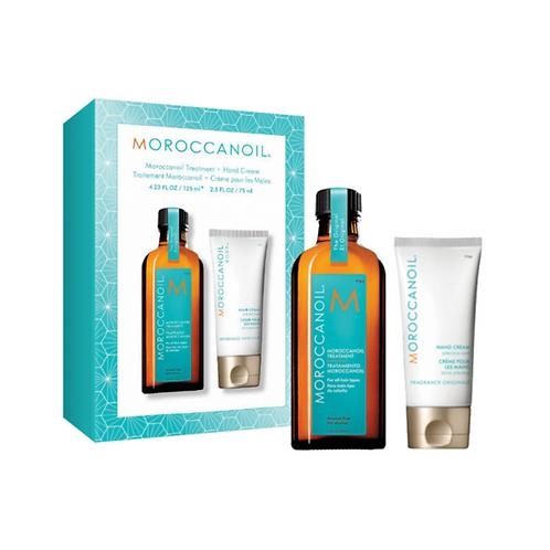 Moroccanoil Soft & Shine Duo - Original Treatment Oil 125ml + Hand Cream 75ml