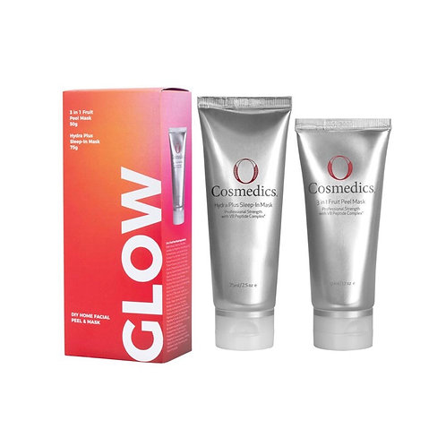 GLOW Power Couple - 3 in 1 Fruit Peel Mask & Hydra Sleep in Mask
