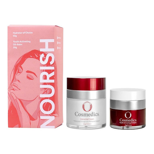 NOURISH Power Couple – Immortal Cream & Youth Activating Oil Balm