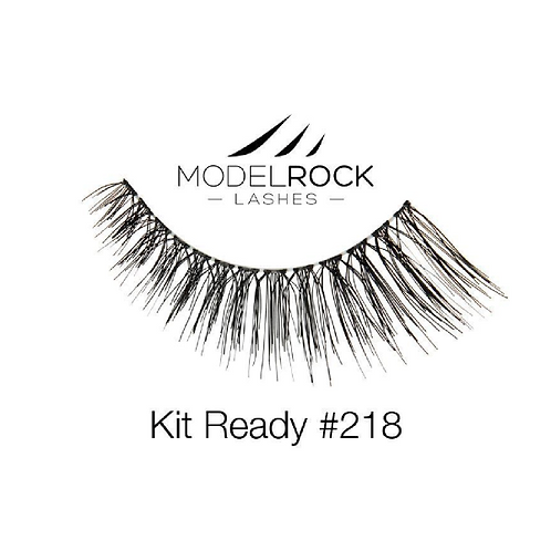 ModelRock Kit Ready Lashes #218