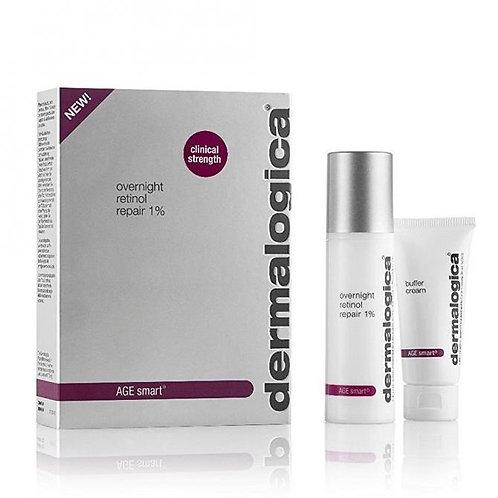 Dermalogica AGE Smart - Overnight Retinol Repair 1% (includes 15ml buffer cream)