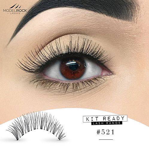 ModelRock Kit Ready Lashes #521
