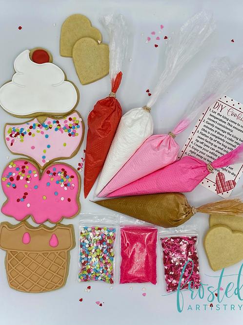 Valentine's Cookie Decorating kit