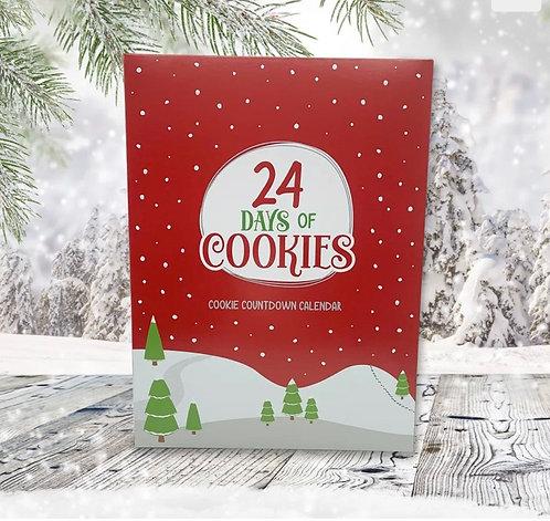 24 Cookie Advent Calendar