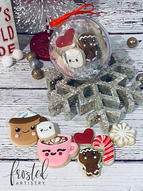 Baby Its Cold Outside Cookie Ornament