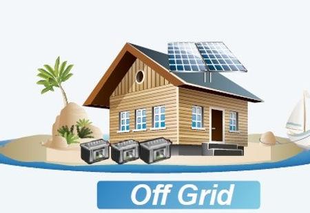 Energia Solar Off-Grid - RLC Energia