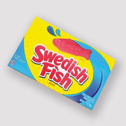 Swedish Fish Original Red Candy Theatre Box