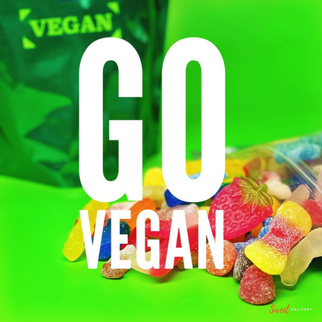 GO Vegan : What ingredients are actually in Vegan sweets?