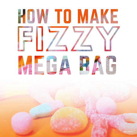 How we make our famous Mega Bag containing all our sweet & sour candy!
