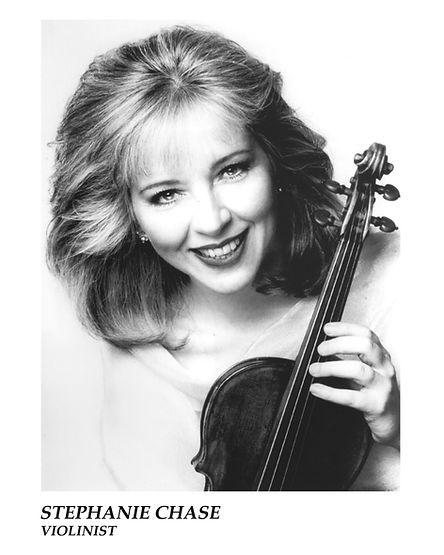Stephanie Chase, Violinist