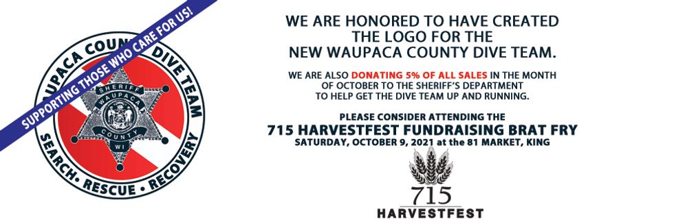Waupaca County Dive Team Fundraiser
