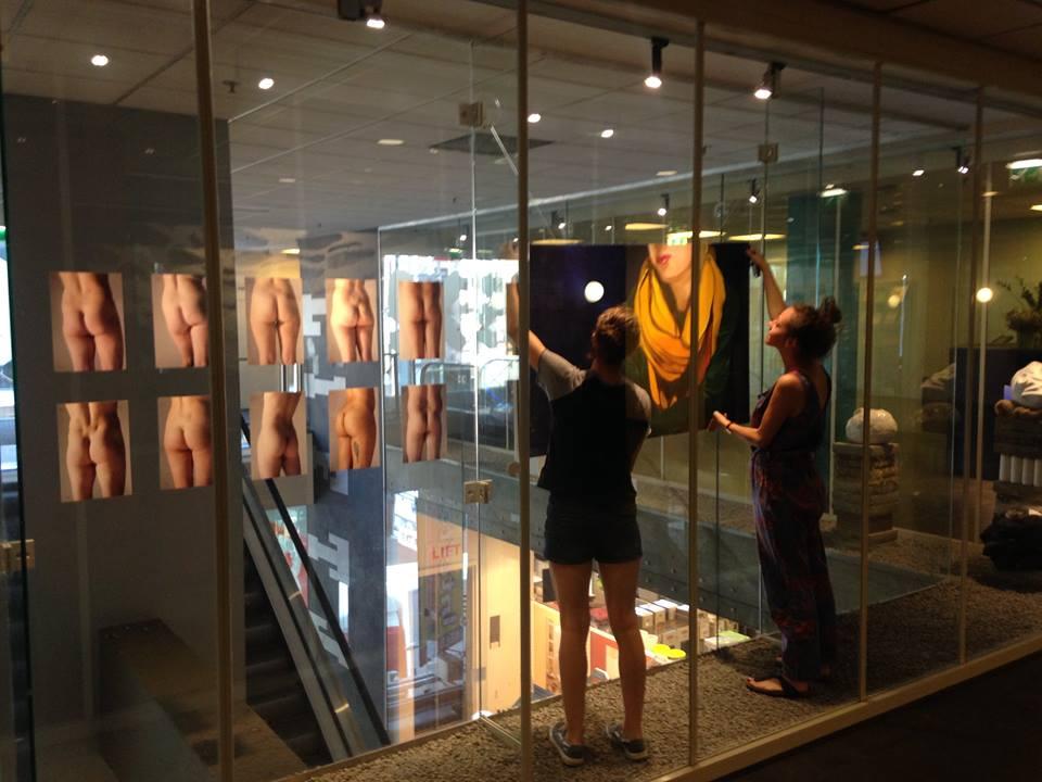 Expositie Lange Viestraat HKU
