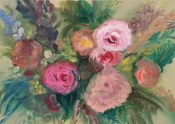 Bloemen voor oma
