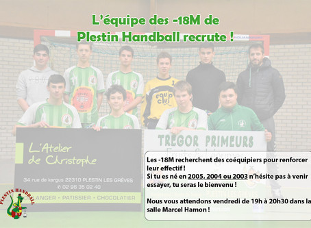 Recrutement masculin 2005, 2004, 2003