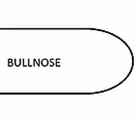 Sandstone - Teakwood - Bullnose Rounded