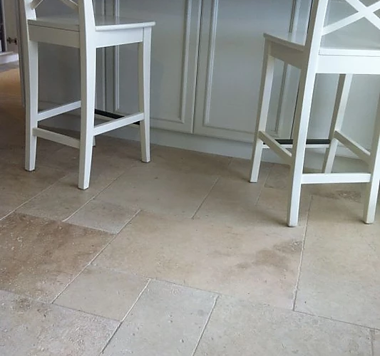 Travertine - Ivory - Unfilled and Tumbled