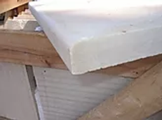 Sandstone - Sahara - Bullnose - Rounded or Pencil Edge