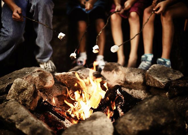 Лагерь Пожар на ночь