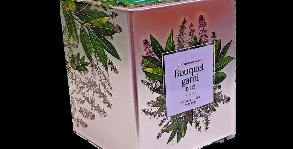 Bouquet Garni Bio, boite métal
