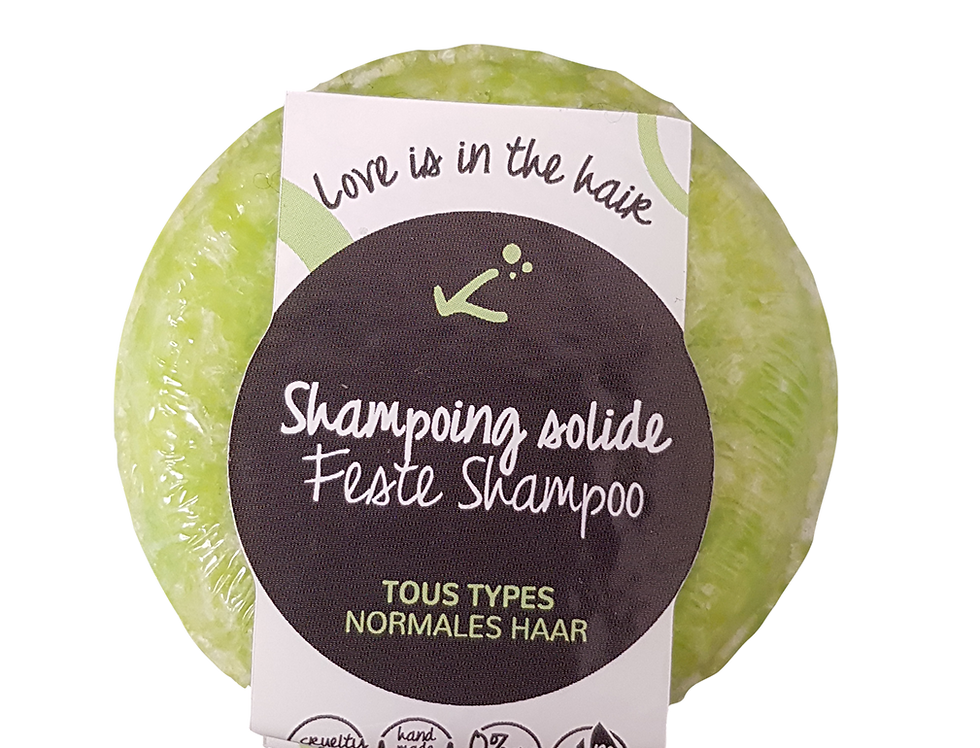 Shampoing solide tous types