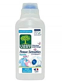 Détachant avant lavage, Peaux Sensibles, écologique 500 ml l'Arbre Vert