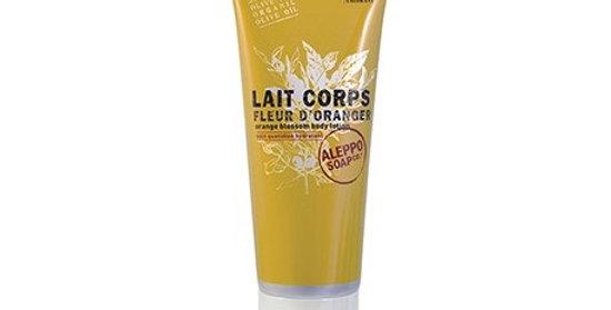 Lait Corps Fleur d'Oranger