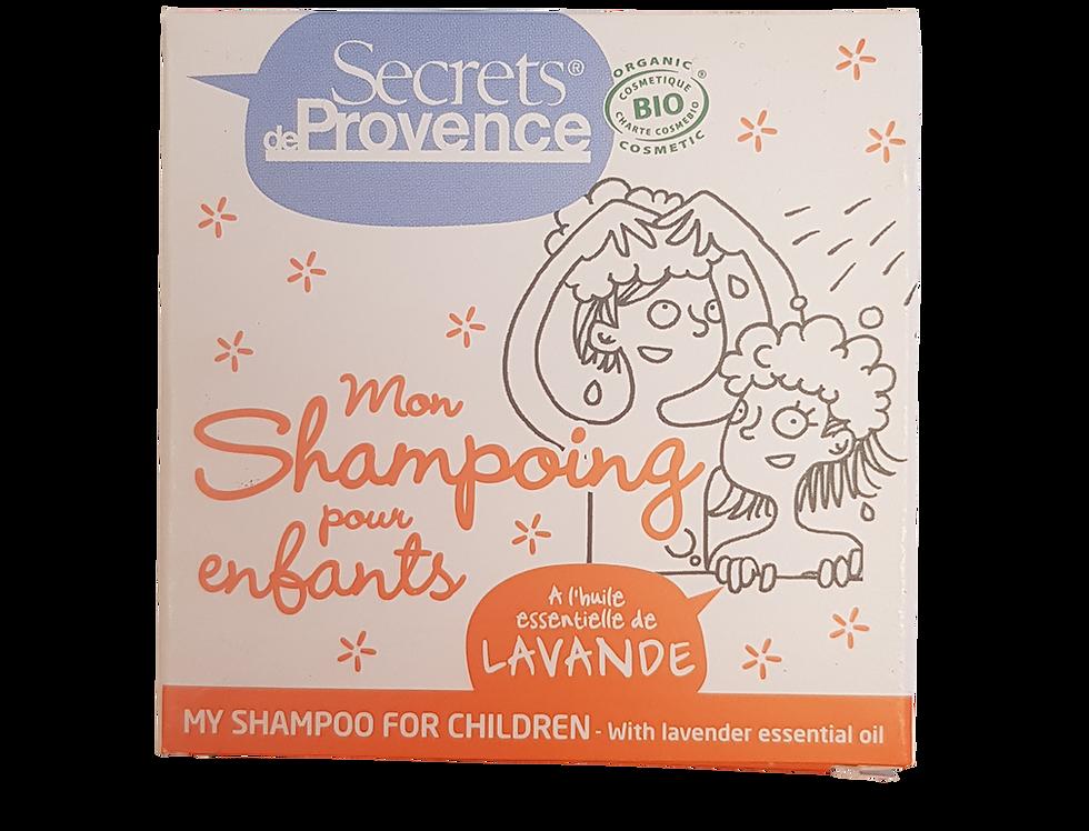 Shampoing solide pour enfants