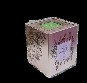 Thym de Provence Bio, boite métal