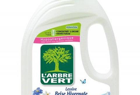 Lessive Brise Hivernale, écologique 1.5L l'Arbre Vert