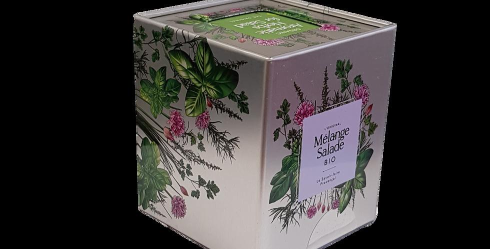 Mélange Salade Bio, boite métal