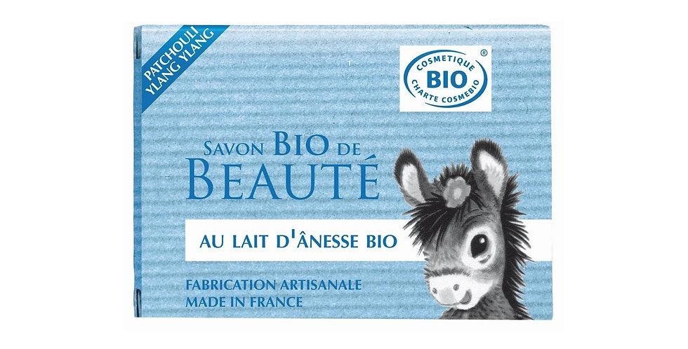 Savon au lait d'ânesse Bio au patchouli et ylang-ylang
