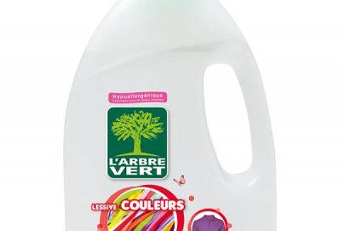 Lessive Couleurs, écologique 1.2L l'Arbre Vert